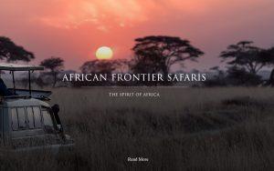 African Frontier Safaris Brand by Cuberoo Bloemfontein